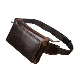 Leather Fanny Waist Pack Like Roots Village Bag
